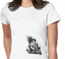 Lark Sparrow Womens Fitted T-Shirt
