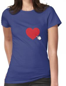Online Love Womens Fitted T-Shirt