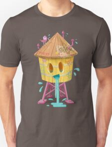 Happy Brooklyn Water Tower Unisex T-Shirt