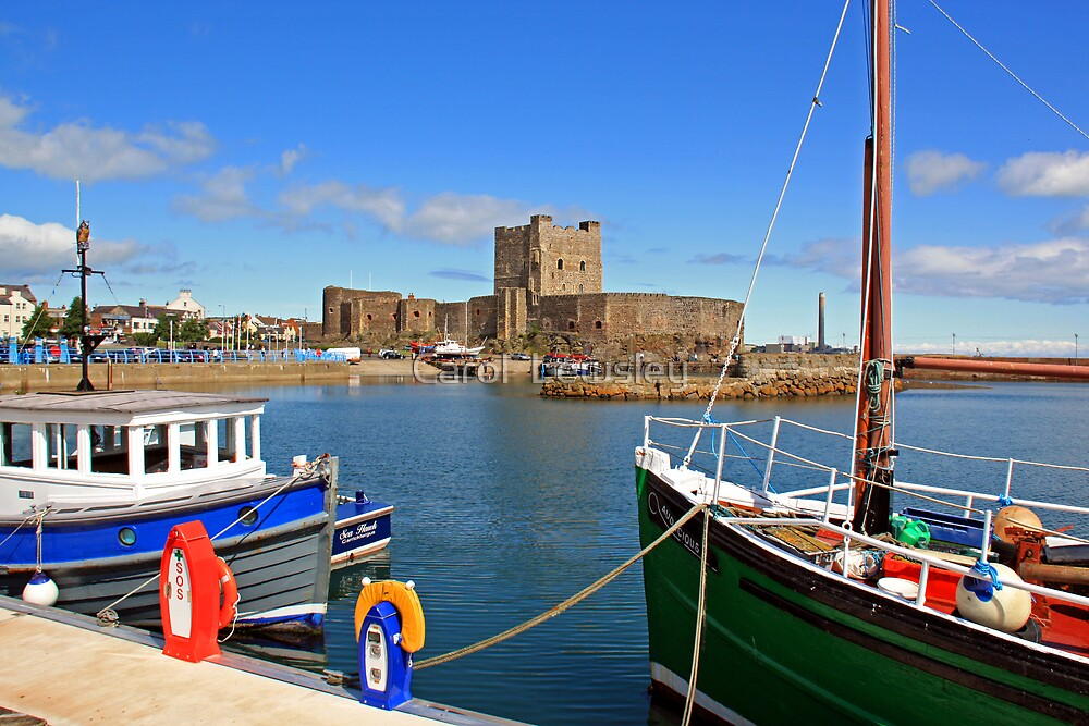 Carrickfergus Castle by Carol  Lewsley