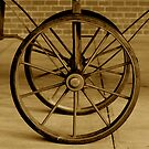 Old Wagon Wheels by Jonathan  Green