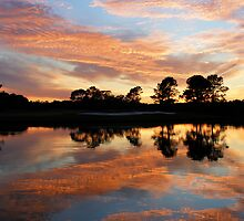 Flaming skies over Texas by worldtripper