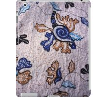 Batik background from indonesia, asian iPad Case/Skin
