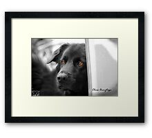 The Doorman Framed Print