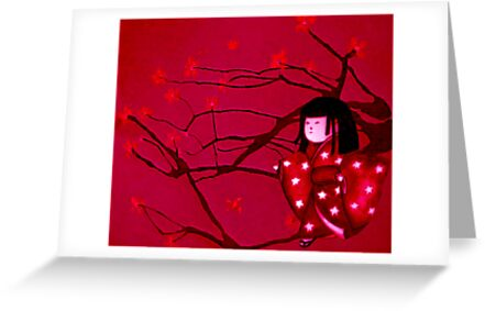 Chasing crane blossom by Naomi  O'Connor