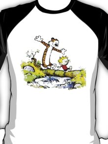 Calvin funny and hobbes funny T-Shirt