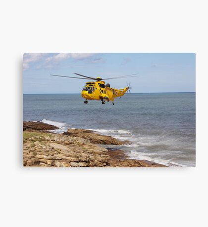 R.A.F. Rescue Helicopter Canvas Print