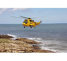 R.A.F. Rescue Helicopter Photographic Print