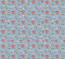 floral pattern by susana-art