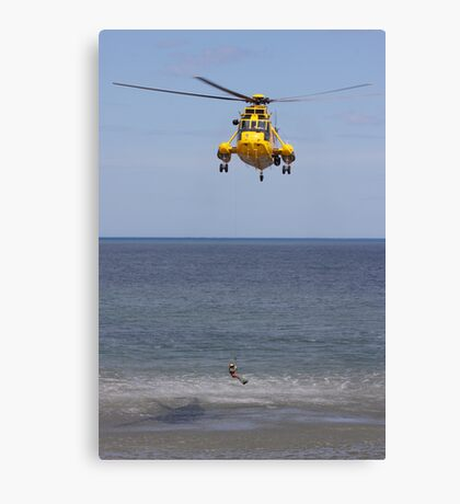 Seaking Rescue Helicopter Canvas Print