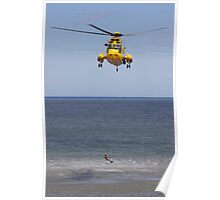 Seaking Rescue Helicopter Poster