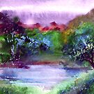 Mystic Lake by Anil Nene