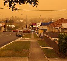 Dust Storm Brisbane by Helen Martikainen