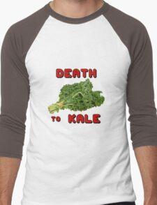 Death to Kale Men's Baseball ¾ T-Shirt