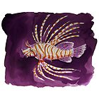 Savannah under the water - The Lion Fish by Daniel Champanhet