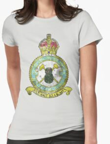 75(NZ) Squadron RAF Full Colour crest VINTAGE Womens Fitted T-Shirt