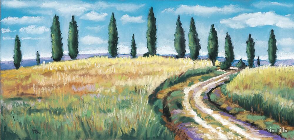 Tuscany Dream by ria hills