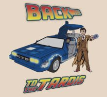 Back to the Tardis - Doctor Who T-Shirt