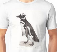 Penguin Watercolor Painting Unisex T-Shirt