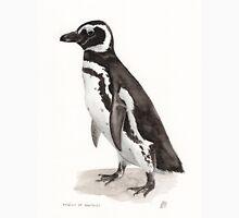 Penguin Watercolor Painting T-Shirt