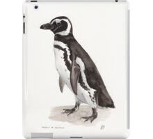 Penguin Watercolor Painting iPad Case/Skin