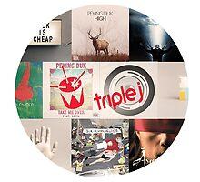 Triple J top ten songs 2014 by lach5549