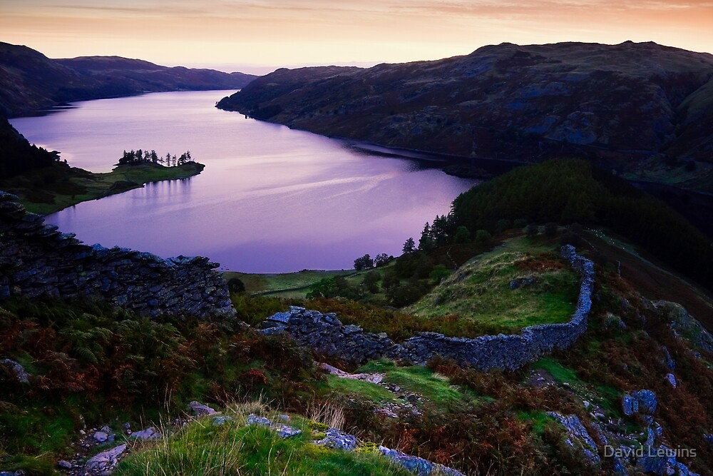 Haweswater from Swine Crag by David Lewins