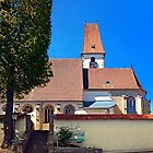 The village church of Hirschbach by Patrick Jobst