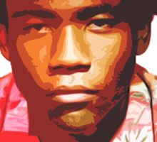 Childish Gambino Because The Internet Sticker