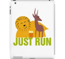 Lion and gazelle iPad Case/Skin