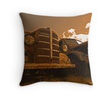 Bedford Trucks Throw Pillow
