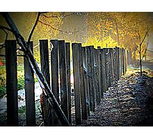 Line of defence Photographic Print