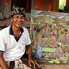 Artist, Ubud, Bali by JonathaninBali