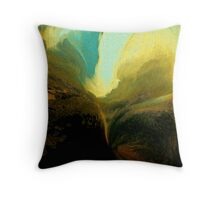 wild sky..... wide valley Throw Pillow