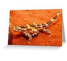 Thorny Devil (Moloch horridus) Greeting Card