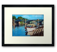 Nottingham reflections - Trent Bridge II Framed Print