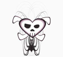 Goth Skull by R. Fyfe