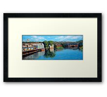 Nottingham reflections - Trent Bridge III Framed Print