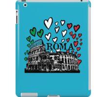 Roma flying hearts iPad Case/Skin