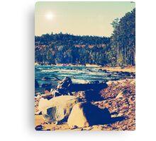 Rocky Shores of Lake Superior Canvas Print