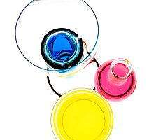 Colours in Jars Photographic Print