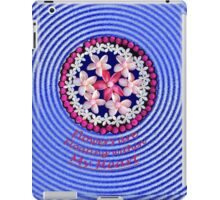 Flowers Floating From My Heart iPad Case/Skin