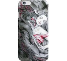 Wolf in hell iPhone Case/Skin