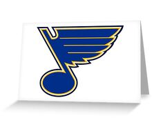 St. Louis Blues Greeting Card
