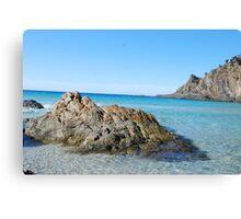 Kangaroo Island Beach Scene Canvas Print
