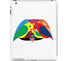 Colourful parrots iPad Case/Skin