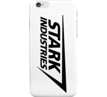Stark Industries-Black iPhone Case/Skin