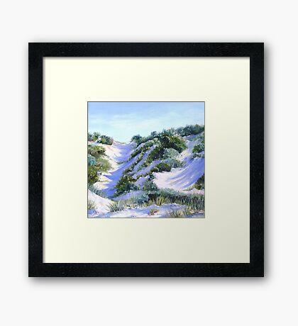 Ocean Reef Dune #30 Framed Print