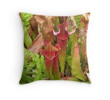 Pitcher Plants Throw Pillow