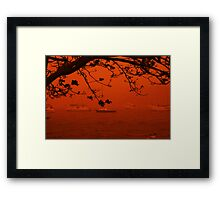 Storm of Dust - Bolton Point Framed Print